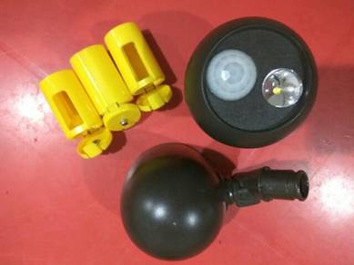 Wireless LED Spotlight w/Motion Sensor & Photocell