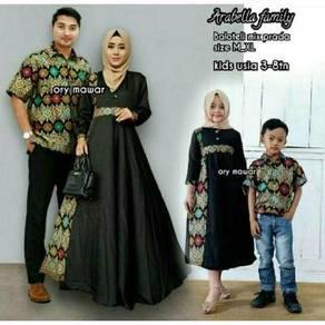 Muslimah Baju raya keluarga Arabella Family