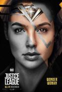 Poster Justice League 2017 Wonder Woman Diana Prin