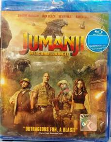 Blu-ray Jumanji Welcome To The Jungle Dwayne Johns