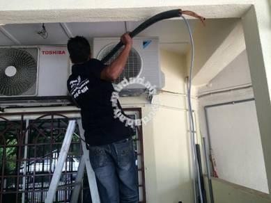 Aircond service at Putrajaya
