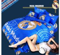 Real madrid bed mattress and pillow