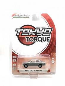 Greenlight 1970 Datsun 510 #29900-B Silver