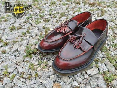 Dr Martens Tassel Loafer Rub Red Original