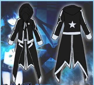 Black Rock Shooter cosplay costume windbreaker
