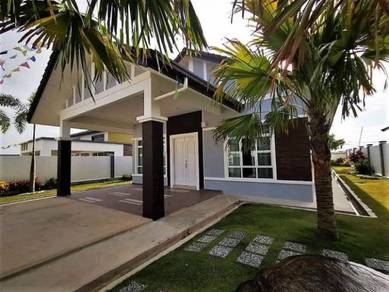 Single Storey Bungalow House, EUROPE DESIGN, Final Corner Lot, S2