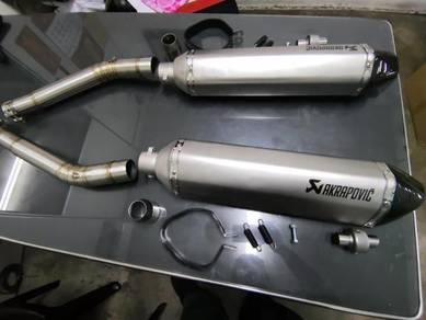 Suzuki gsx1300r akrapovic system pnp ekzos