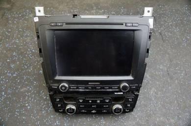 Bentley gt flying spur cd player display screen