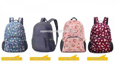 Backpack with Foldable Functions-Multipurpose