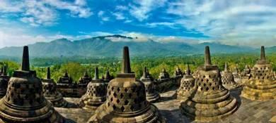 4D3N Jogjakarta Borobudur Merapi (Ground Tour)