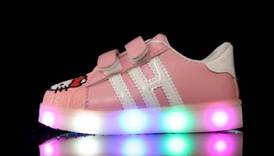 Hello Kitty Shoes with LED Light 88-9