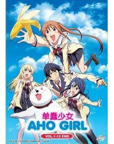 DVD ANIME Aho Girl Vol.1-12 End