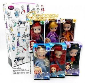 T268 Disney Baby Princess lovely Dolls (6 pcs)