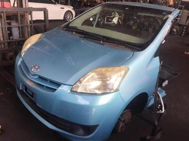 Half Cut Passo SETTE Alza Low Mileage Ori Japan