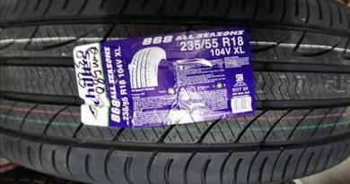 Tayar Baru Achilles 868 235 55 18 Tyre New 2020
