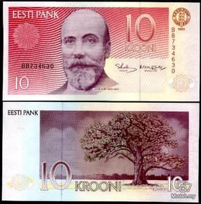 Estonia 10 krooni unc