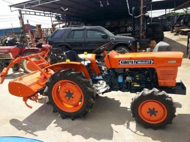 Tractor Kubota 4X4, Model L1500DT, Injin 15 PS