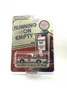 Greenlight 1963 Dodge D-100 Long Bed Red Crown