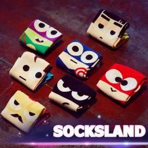 Superheroes sock / stokin superhero 06
