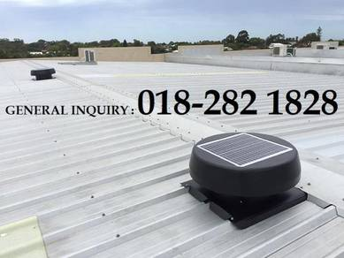 FA SOLAR Roof Exhaust Fan & Air Vent US GGTS23