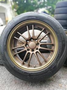 Re30 16 inch sports rim grand livina tyre 70%