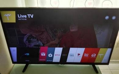 LG SMART TV 42inch conditions tv baik.