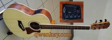 A&K Semi Acoustic Guitar Small 36 Inch 120E