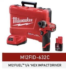 Milwaukee cordless hex impact driver