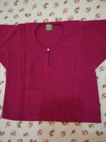 Baju Melayu Kanak-Kanak Bright Pink Saiz 18-24M