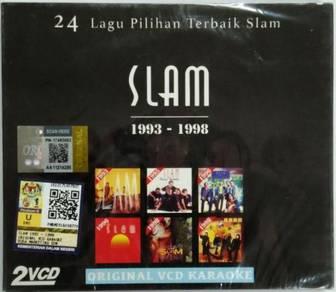 VCD KARAOKE SLAM 1993-1998 24 Lagu Pilihan Terbaik