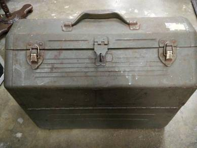 Old Iron Box Container