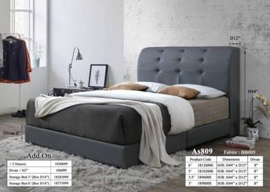 5f bedframe +divan bed