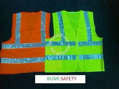 Safety vest w/ reflective lines