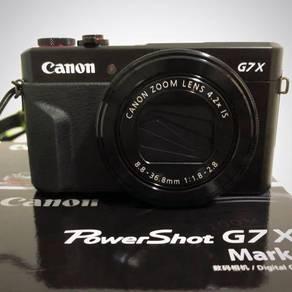 Canon G7X Mark II (Original Malaysia Set)