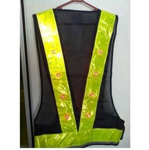 Safety vest led
