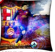 Football club - FC barcelona messi pillow
