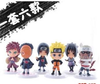 Naruto action figures Akatsuki Members cute garage