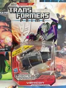 Transformers prime vehicon rid deluxe class BIB