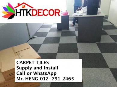 Office Carpet Tile - with install 92YK