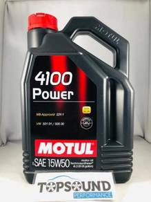 Motul 4100 15W50 Engine Oil - 4Liter (Original)