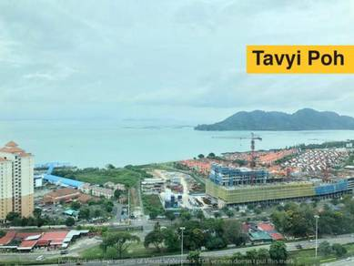 The View Twin Towers Condo Batu Uban gelugor high floor full reno
