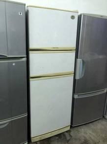 3 Door Peti Sejuk Ais LG Fridge White Refrigerator