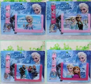 Set Frozen Watch & Wallet