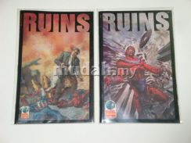 RUINS miniseries by Warren Ellis. complete set