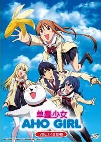 DVD ANIME VS0285 Aho Girl Vol.1-12 End