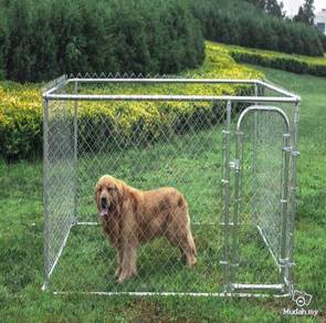 Quality Built Galvanized Home Kennel 4ft