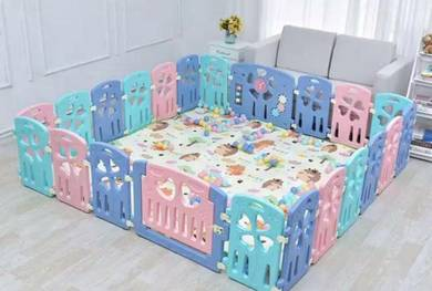 Safety and secure playard playpen playground play