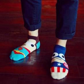 Superheroes sock / stokin superhero 10