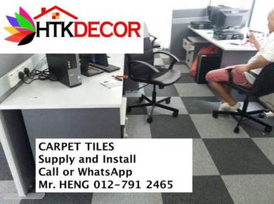 New Carpet Tile - With Installation 10ML