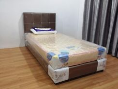 Single Divan Mattress Set with 6 inch Mattress
